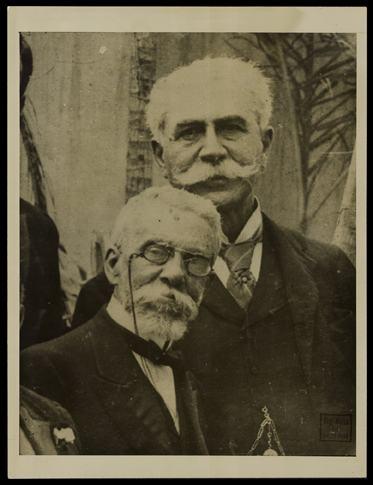 Joaquim Nabuco e Machado de Assis