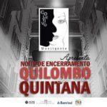 Espetáculo musical encerra Quilombo Quintana de 2016