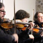 Conjunto de Câmara Recanto Maestro com o solista Moisés Cunha e o convidado Fernando Cordella