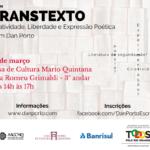 Oficina de Transtexto na Casa De Cultura Mario Quintana, dia 10 de março.