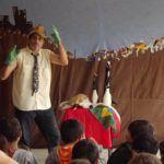Pequeno Grupo de Teatro apresenta o espetáculo infantil Vamos Cuidar dos Animais na CCMQ