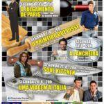 Gastrononomia é o tema da programação de Agosto do Cineclube Torres