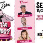 Projeto de humor 'Sextão rindo' entra em cartaz no Teatro Novo DC