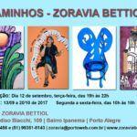 Caminhos — Zoravia Bettiol tem inauguração nesta terça-feira (12)