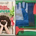 """""""Minha Própria Horta"""" é um livro que tem proposta didática para ensinar as crianças a plantarem alimentos"""