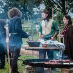 Seja viking por um dia em um acampamento medieval