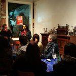 Música latina e violoncelo no Sarau Amigos da Alice