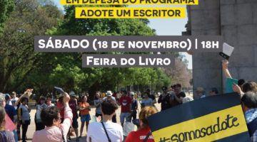AGES convida para Livraço em defesa do 'Adote' neste sábado, dia 18