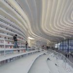 China inaugura espetacular biblioteca futurista em Tianjin Binhai. Veja as fotos