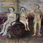 Dores da vida são retratadas em exposição que acontece na Casa de Cultura Mario Quintana