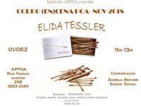 Seminário Corpo (En)Cena tem participação de Elida Tessler