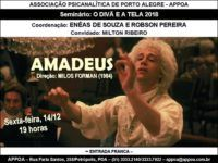 Seminário O Divã e a Tela debate 'Amadeus' dia 14