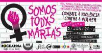 Evento Somos todxs Marias – Combate à violência contra a mulher