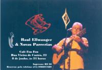 Raul Ellwanger se apresenta no Café Fon Fon no sábado, 8 de junho