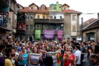 'As Batucas' fazem carnaval no Vila Flores, com participação da rapper Negra Jaque