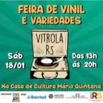 Vitrola RS promove cultura do vinil e comércio independente na Travessa dos Cataventos